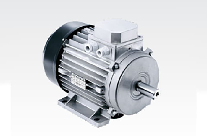 Three Phase Electric Motor. image