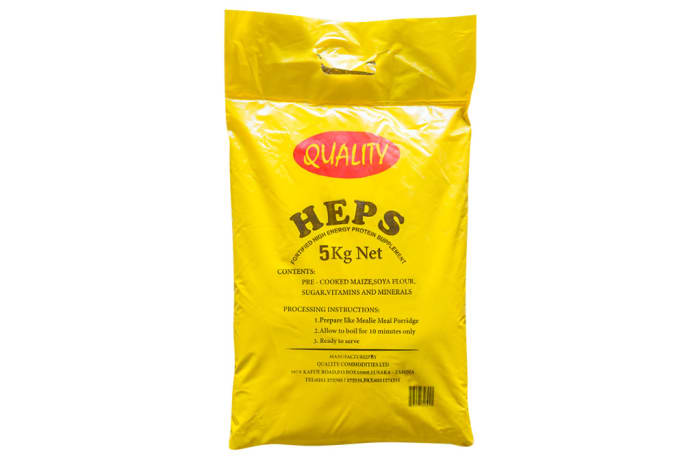H.E.P.S Fortified High Energy Protein supplement - 5Kg image