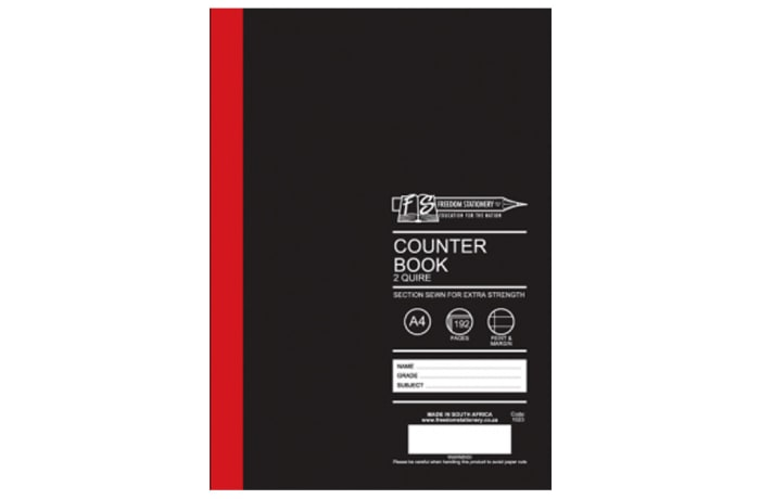 Hard Cover Exercise Book A4 192 Pages Lined image