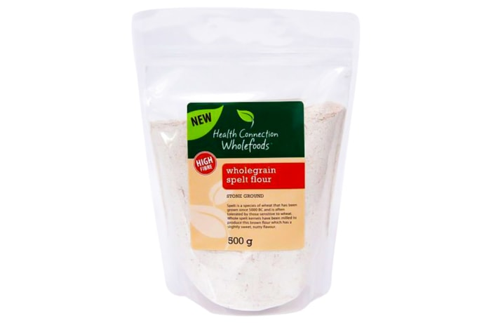 Wholegrain Stone Ground   Spelt Flour  image