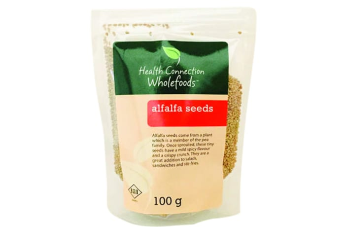 Alfalfa Seeds for Salads & Sprouting 100g  image