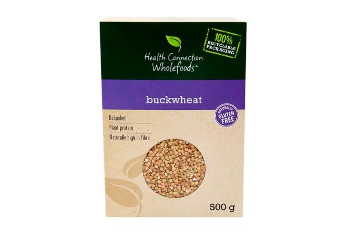 Dehusked Buckwheat  Gluten-Free  Whole Kernels 500g  image