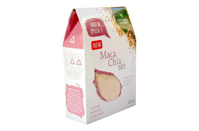 Organic Maca Chia Oats  300g image