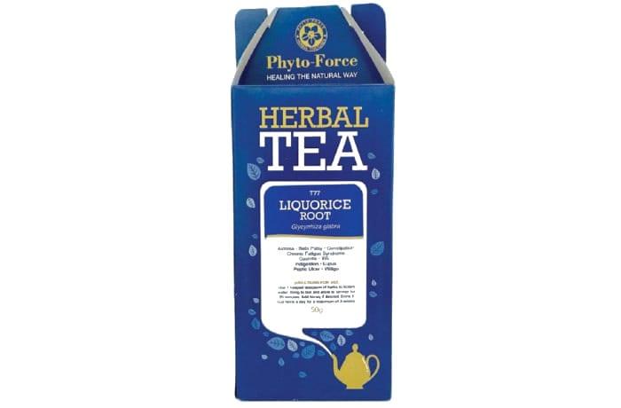 Herbal Tea  Liquorice Root  Glycyrrhiza Glabra image