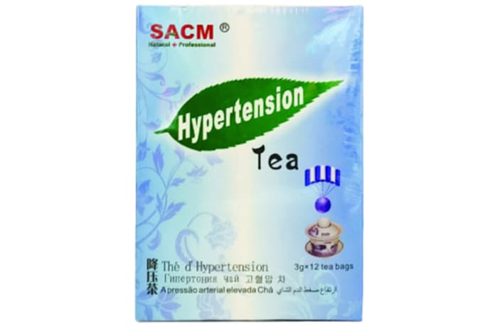 Herbal Tea Sacm Hypertension Tea 12 Teabags image