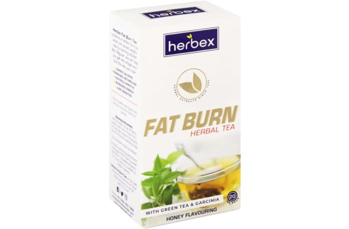 Fat Burn Honey Flavoured Herbal Tea with Green Tea & Garcinia  image