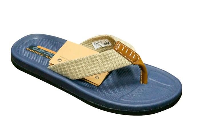 Hi-Tec Men's Flip Flops - Memory Foam image