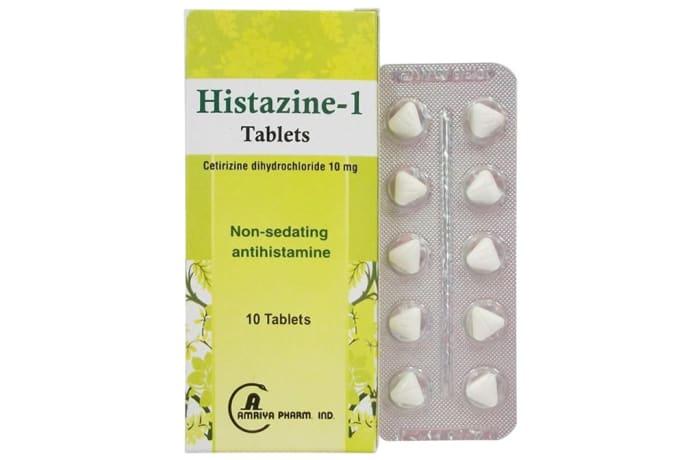 Histazine-1  Non-Sedating Antihistamine Tablets image