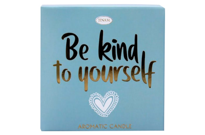 Inspire Aromatic Candle - Be Kind to Yourself - Patchouli Scented image