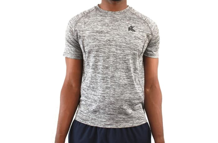 Men's Elite T-Shirt - Splinter Grey image