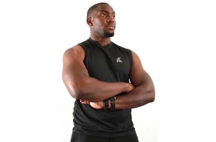 Men's Moisture Management Vest - Black image