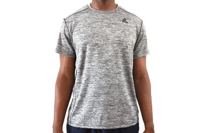 Men's Warrior T-Shirt - Splinter Grey image