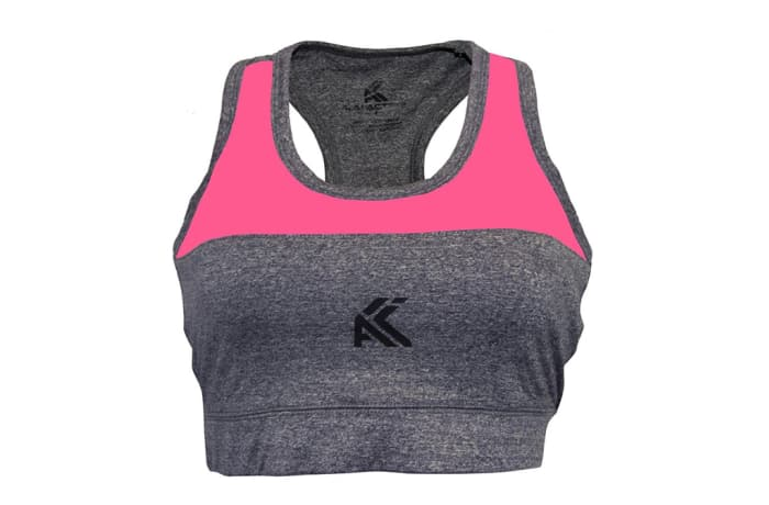 Women's Sports Bra / Crop Top - Pink image