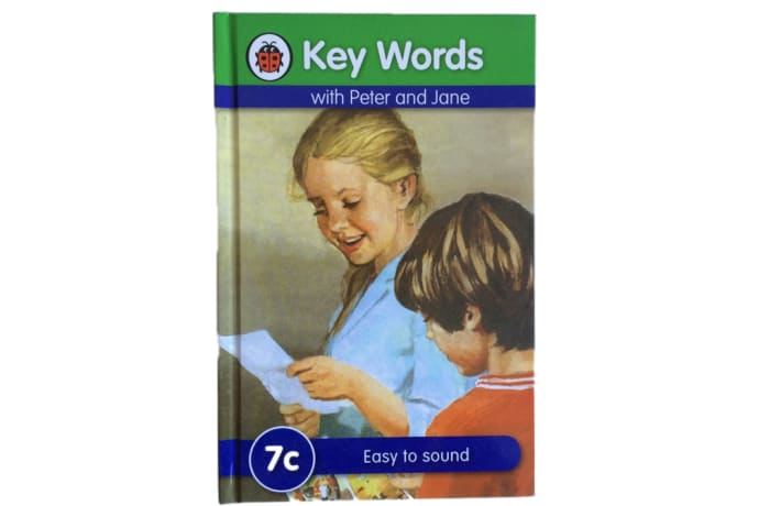 Key Words - With Peter And Jane – 7c Easy To Sound image