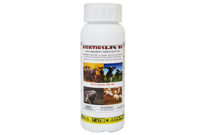 Kicktic 12.5 EC Parasiticide - 500ml image