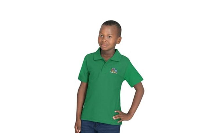 Kids Basic Pique Golf Shirt image