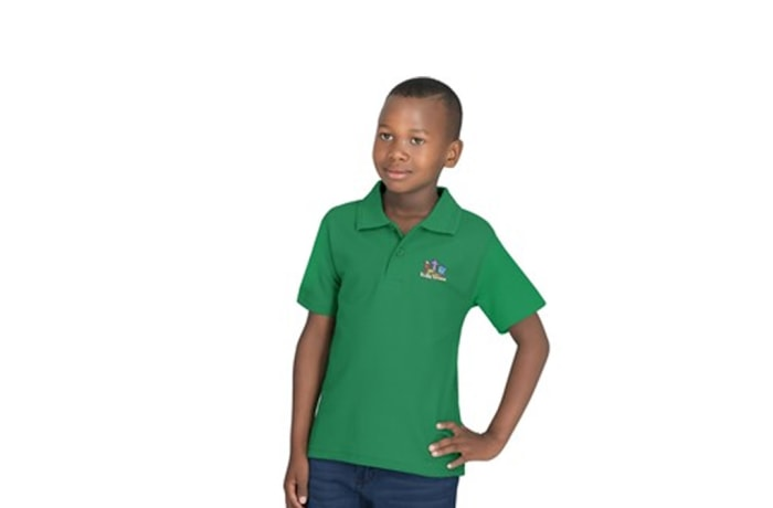 Kids Basic Pique Golf Shirt image