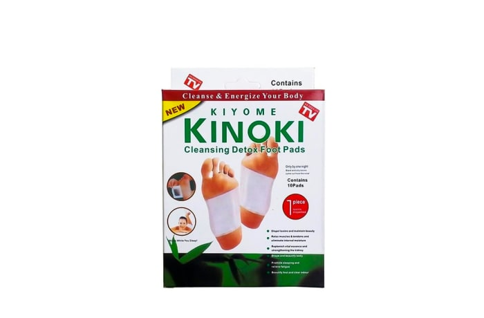 Kinoki Cleansing Detox Foot Pads One Size Fits All 10 Pads image