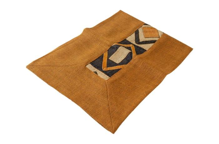 Kuba Cloth Traditional Fabric Table Runner 1m  image