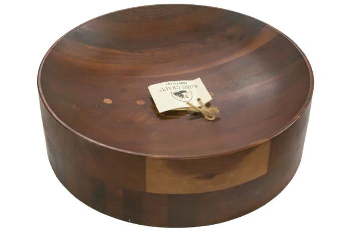 Bowls - Wooden Fruit Bowl image