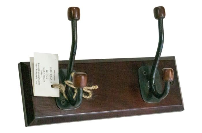 Hooks & Rails - 2 Hook Ball End Rack image