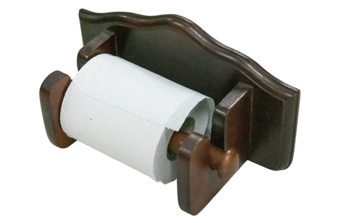Paper Holders -  Shaped Toilet Paper Roll Holder image