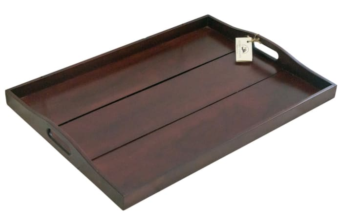 Serving Trays - Large Wooden Tray image