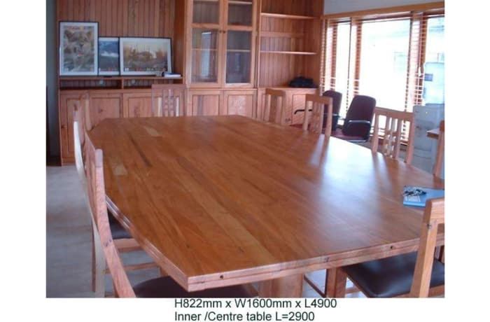 Large conference table  image