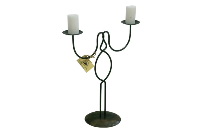 Candle Holders - Vanessa 2 Candle Crossover image