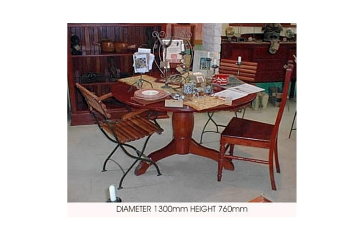 Dining table - 6-seater round image