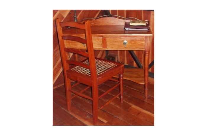 Dressing table Ducal steel trim & knockers image