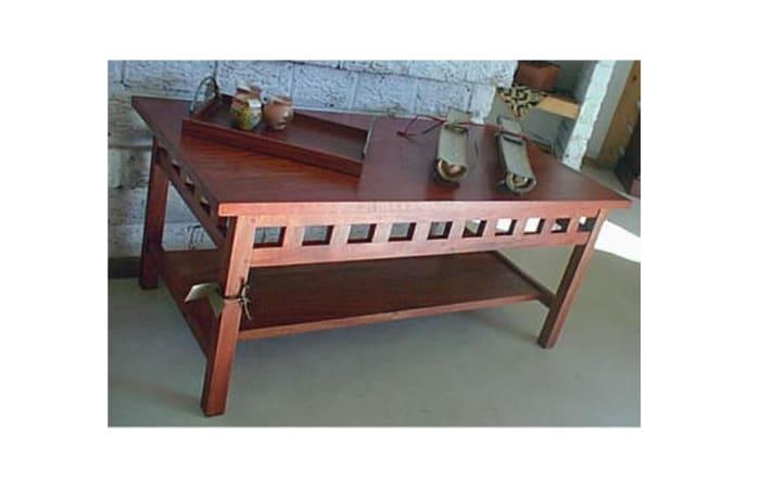 Ikea Simple slatted sides Coffee table image