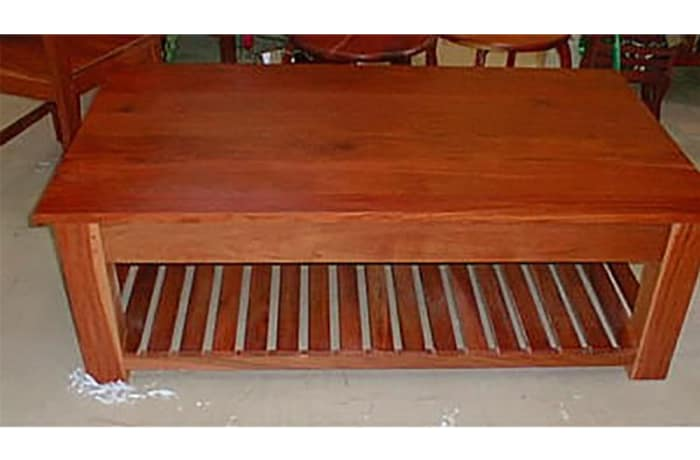 Large Coffee table lower slats image