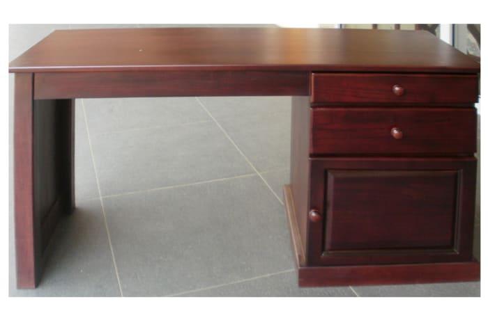 Solid teak medium desk image