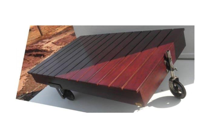 Wheeled coffee table image