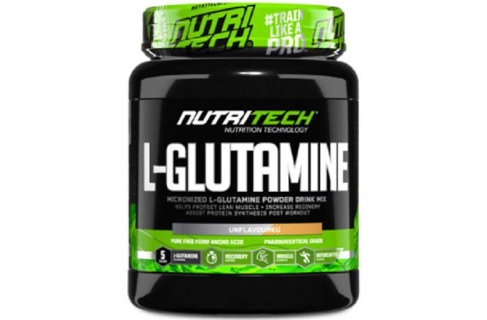 L-Glutamine Micronized Powder Drink Mix Unflavoured 500g image