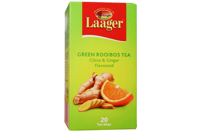 Laager  Green Rooibos Tea  Citrus & Ginger Flavour  image