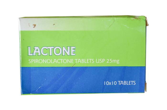 Lactone - Spironolactone tablets image