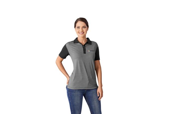 Ladies Crossfire Melange Golf Shirt image