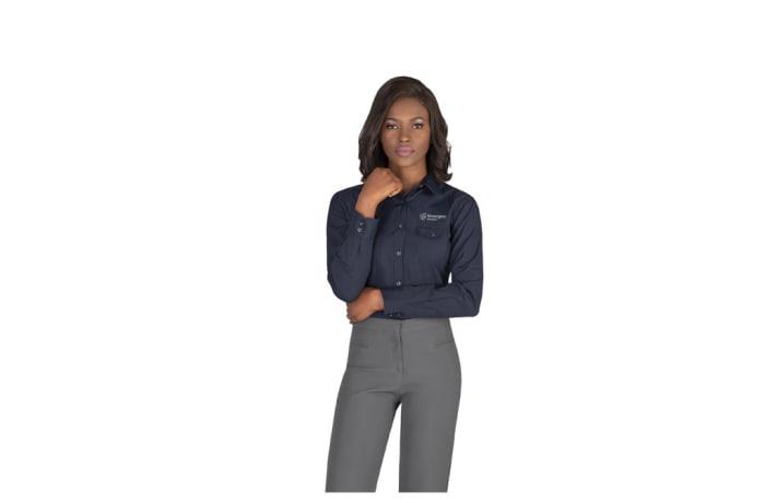 Ladies Long Sleeve Bayport Shirt image