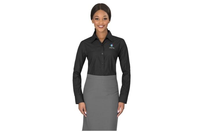 Ladies Long Sleeve Empire Shirt image