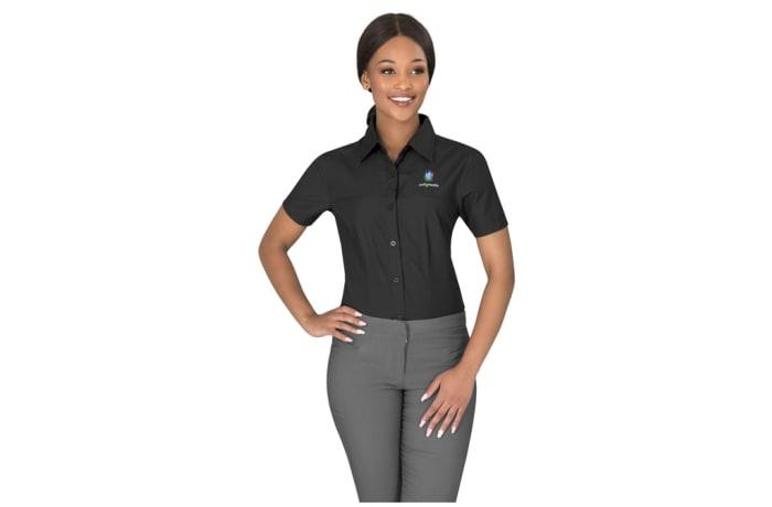 Ladies Short Sleeve Empire Shirt image