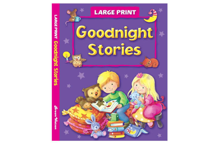 Large Print - Goodnight Stories image