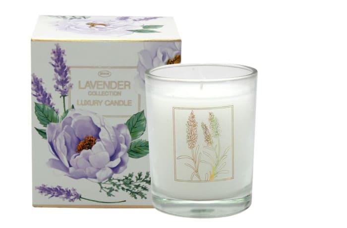 Luxury Candle Lavender Flower's  Fragrance image