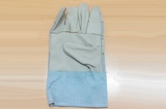 Gloves - Grey Blue Gloves image