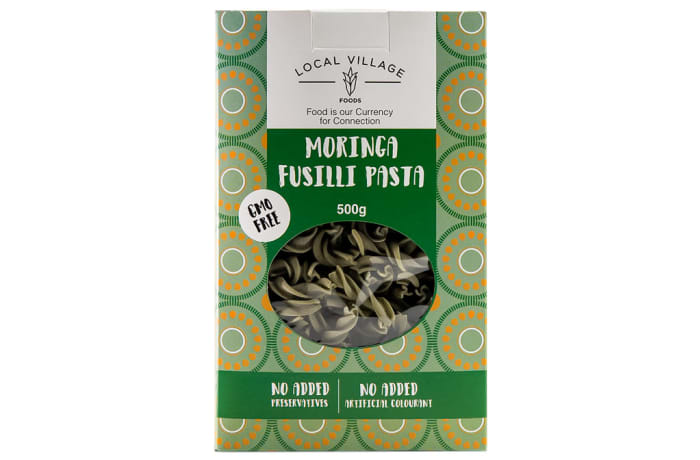 Moringa Fusilli Pasta  Gmo-Free, No Added Preservative & Colourants  500g  image