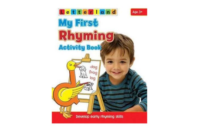 My First Rhyming Activity Book Develop Early Rhyming Skills image