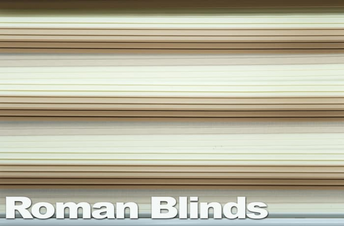 Roman blinds - beautiful and elegant image