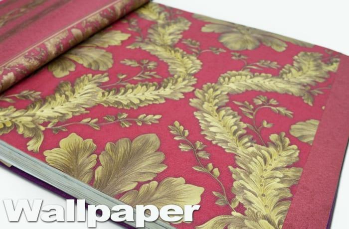 Wallpaper - red yellow pattern image