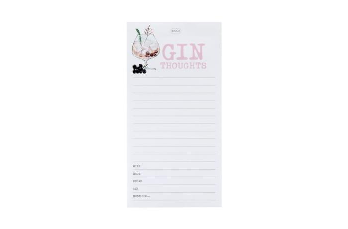 Notepad  Gin Talk  Magnetic Notetaking Pad image